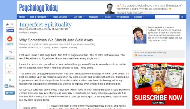 Just Walk Away - Blog Fanny Herdina